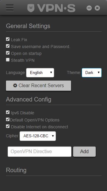 OpenVPN Mobile Desktop Client Features   VPNSecure me